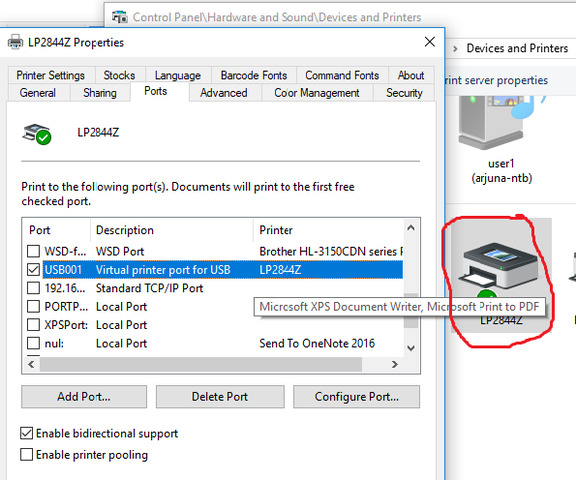 How to print label ( prn) file from OpenRoad